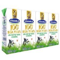 Sữa tươi vinamilk 100% có đường hộp 180ml - dây