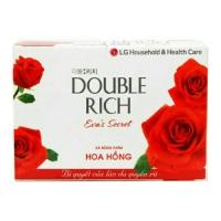Xà bông cục double rich hoa hồng (90g)