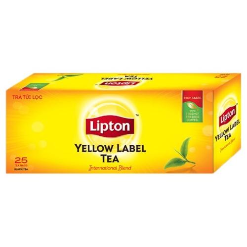 Trà lipton nhãn vàng hộp 50g